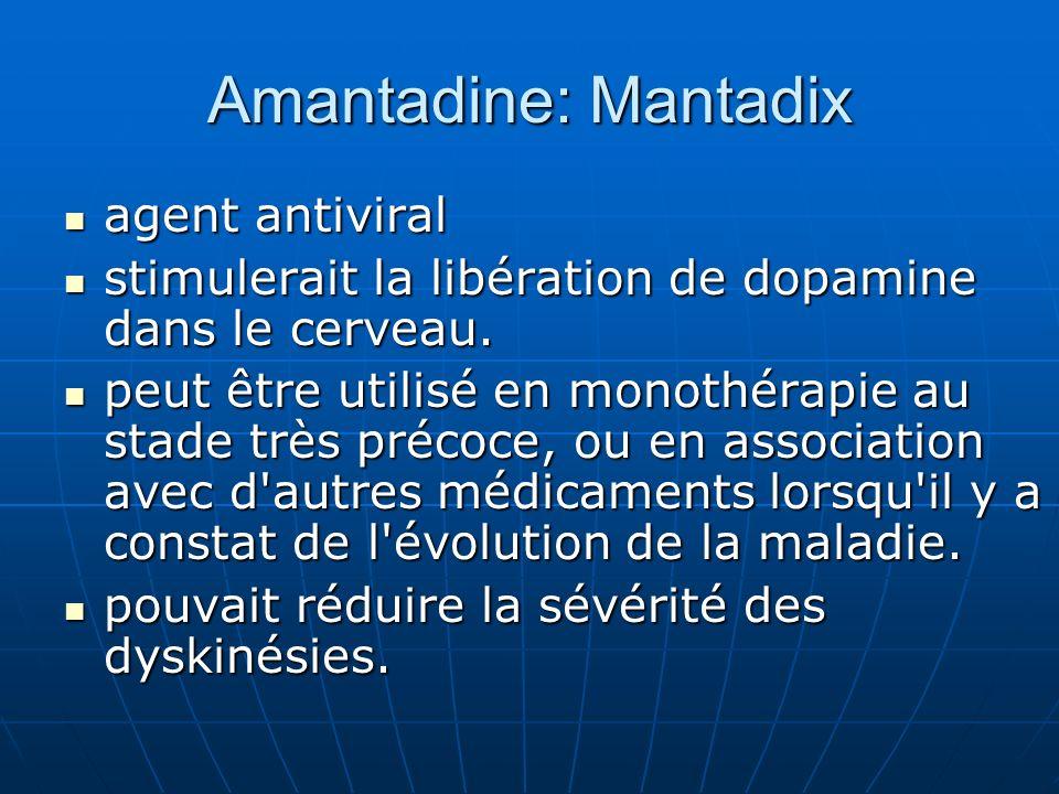 Amantadine: Mantadix agent antiviral