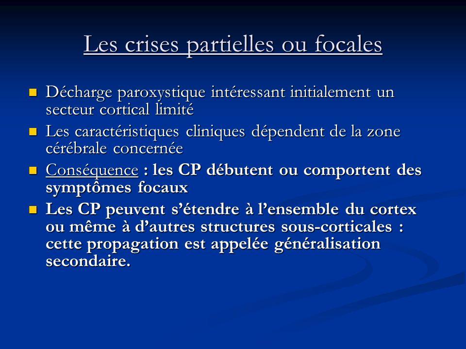 Les crises partielles ou focales