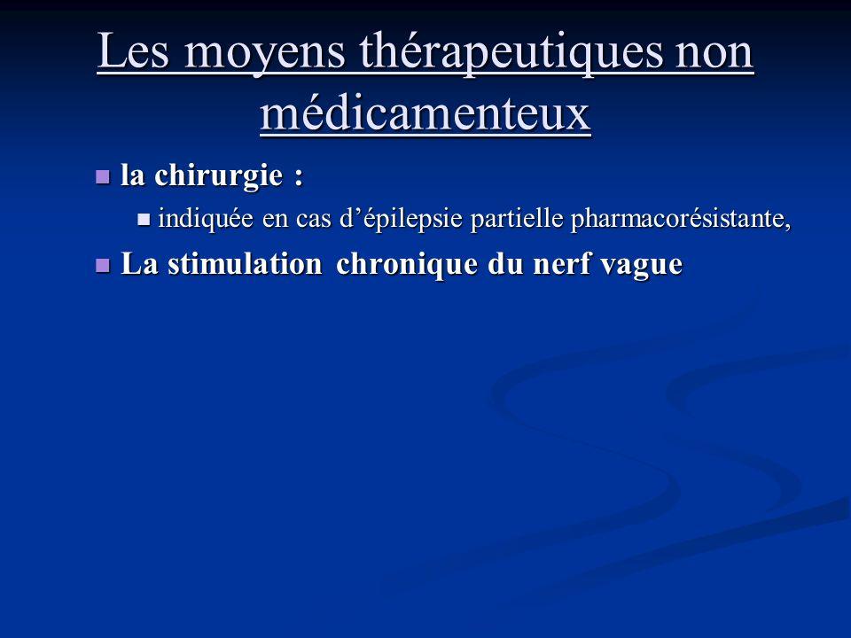 Les moyens thérapeutiques non médicamenteux