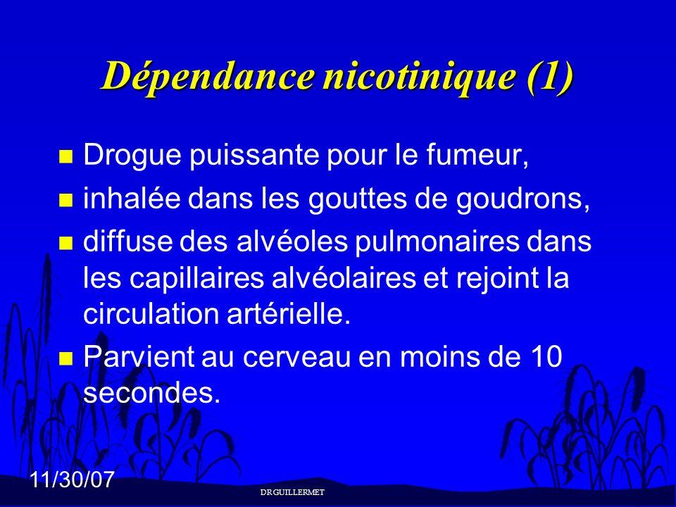Dépendance nicotinique (1)