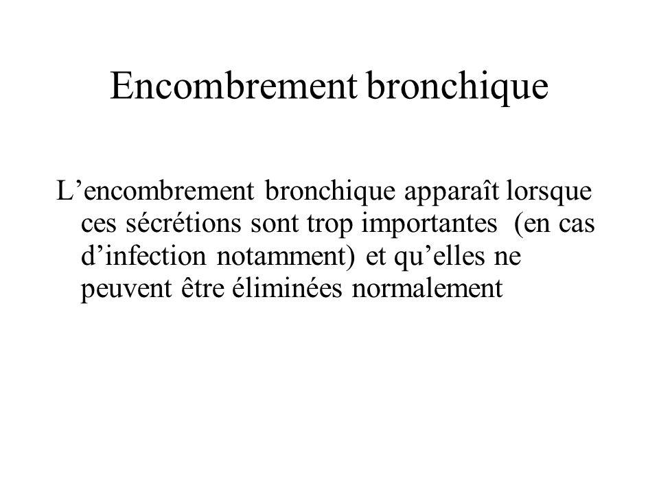 Encombrement bronchique