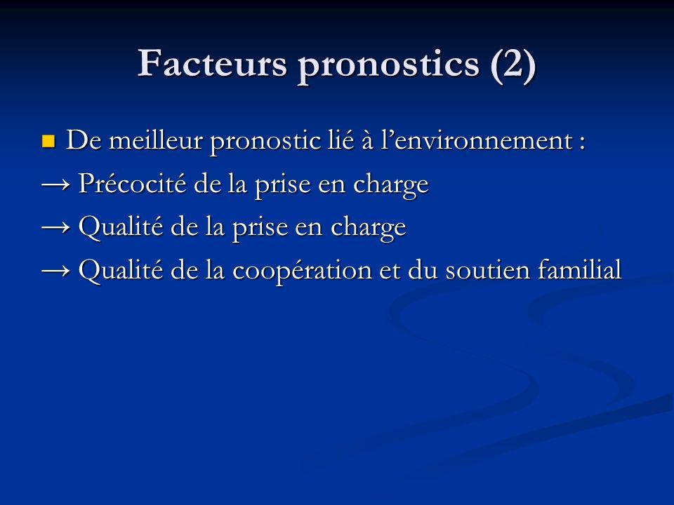 Facteurs pronostics (2)