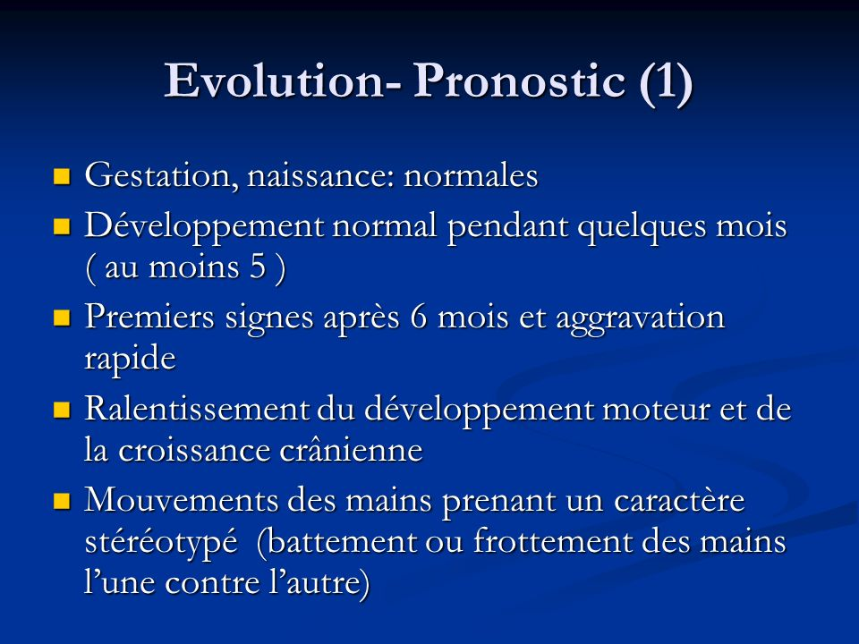 Evolution- Pronostic (1)