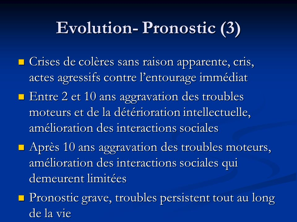 Evolution- Pronostic (3)