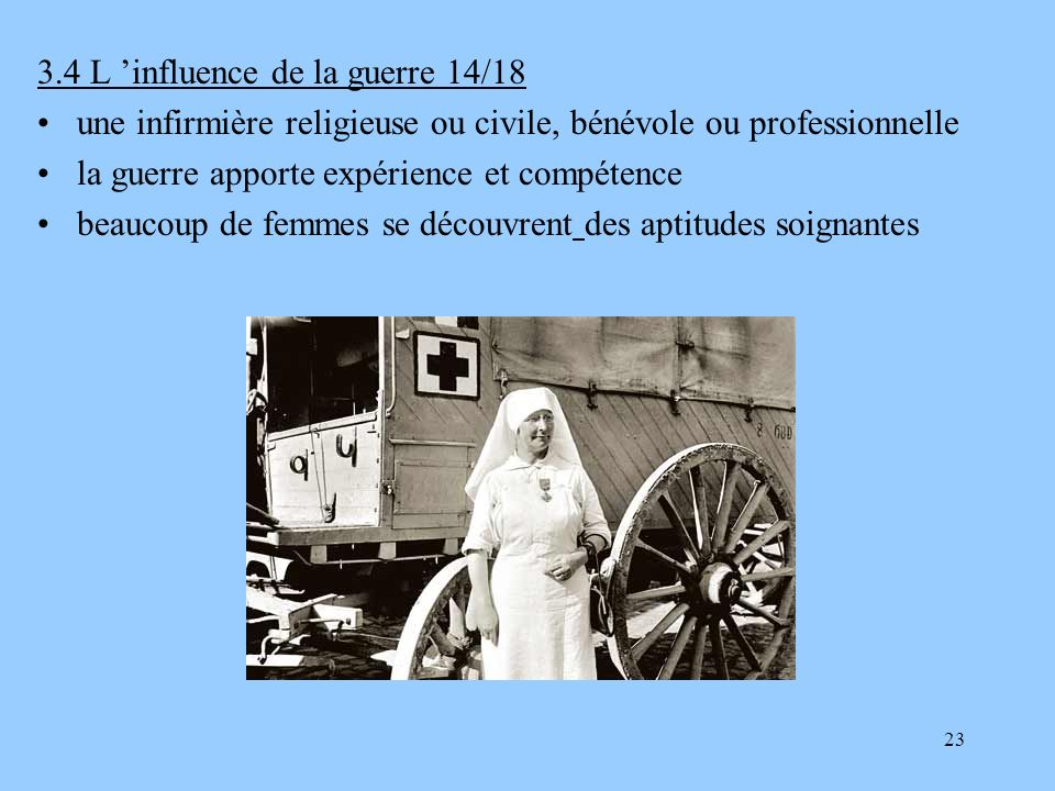 3.4 L 'influence de la guerre 14/18