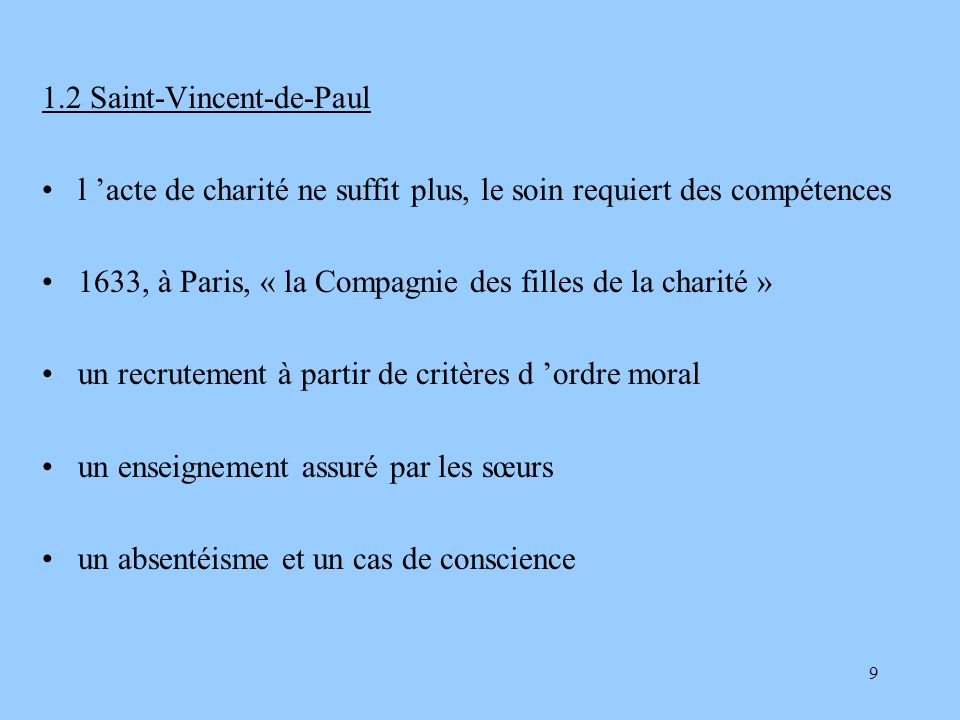 1.2 Saint-Vincent-de-Paul