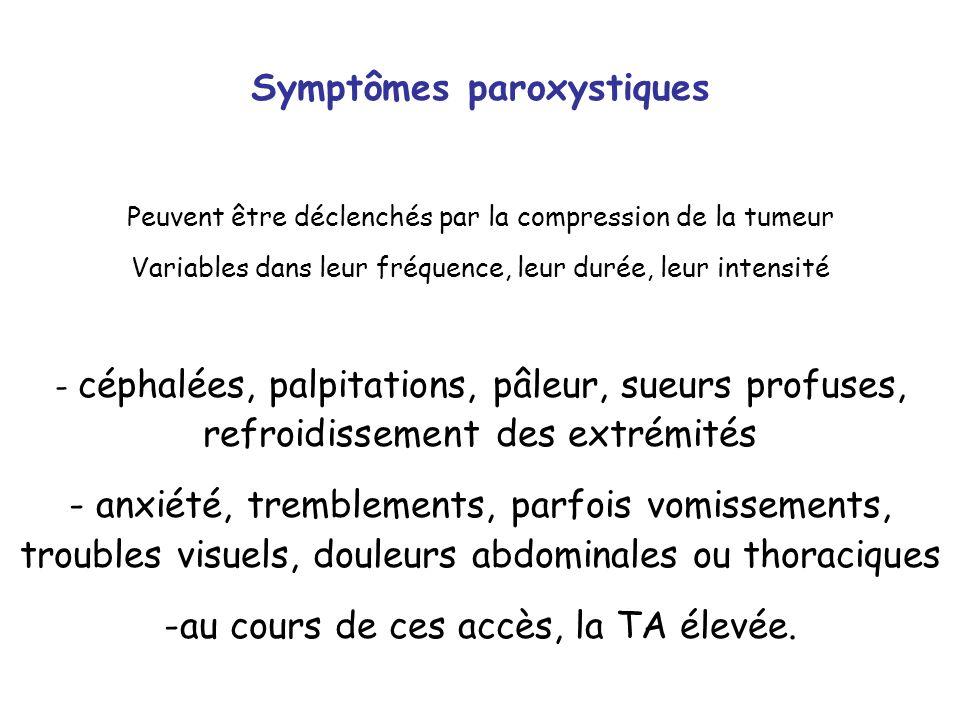 Symptômes paroxystiques