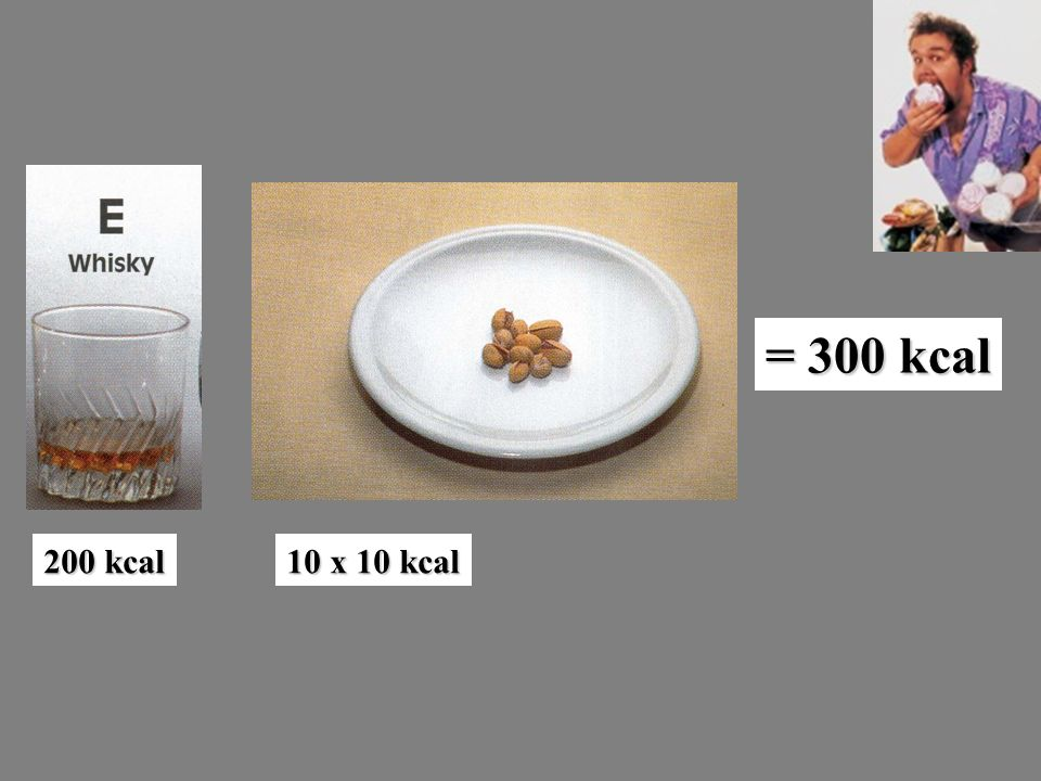 = 300 kcal 200 kcal 10 x 10 kcal