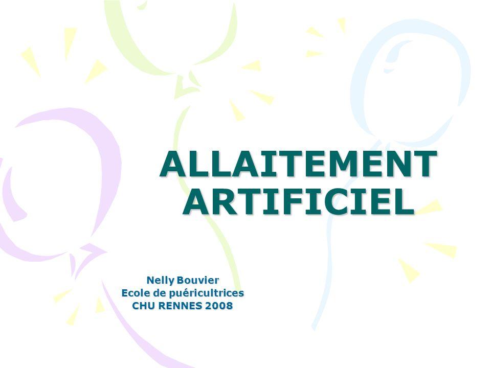 ALLAITEMENT ARTIFICIEL