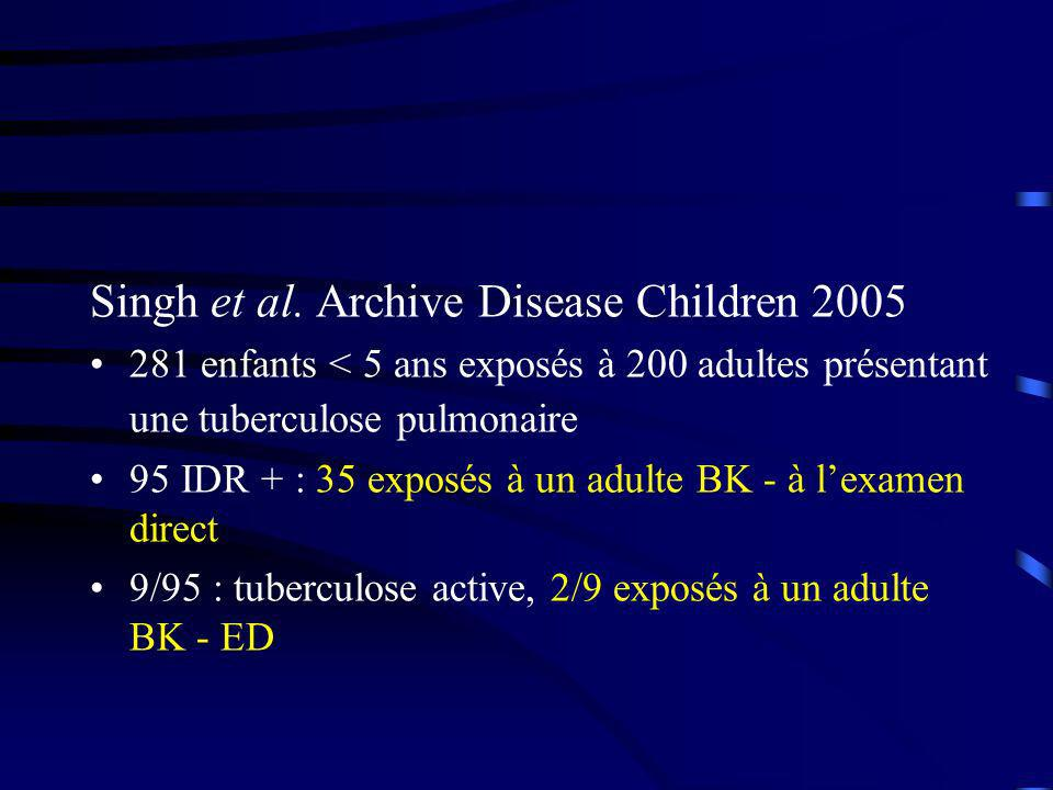 Singh et al. Archive Disease Children 2005