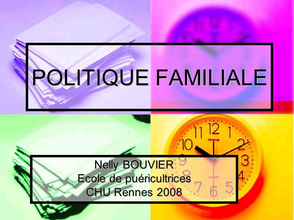 Nelly BOUVIER Ecole de puéricultrices CHU Rennes 2008