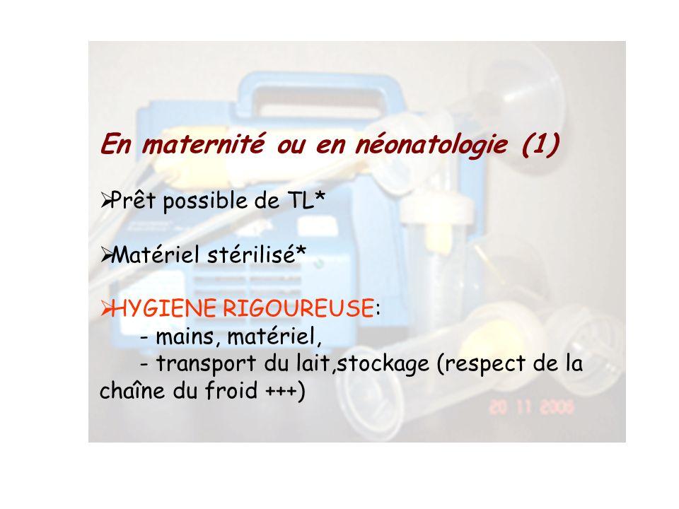 En maternité ou en néonatologie (1)