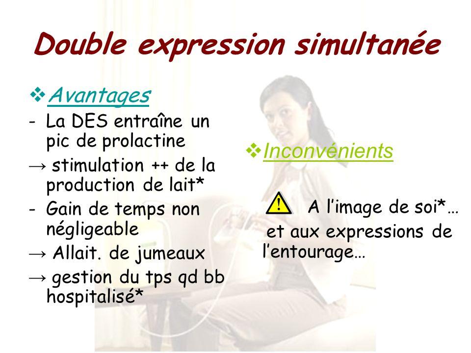 Double expression simultanée