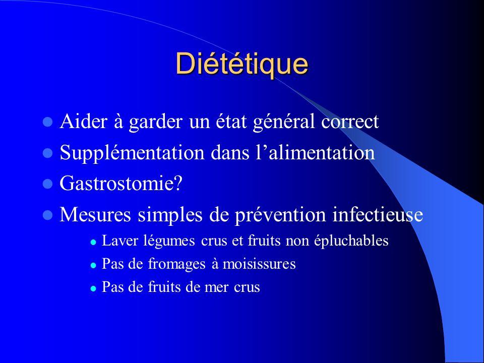 Diététique Aider à garder un état général correct