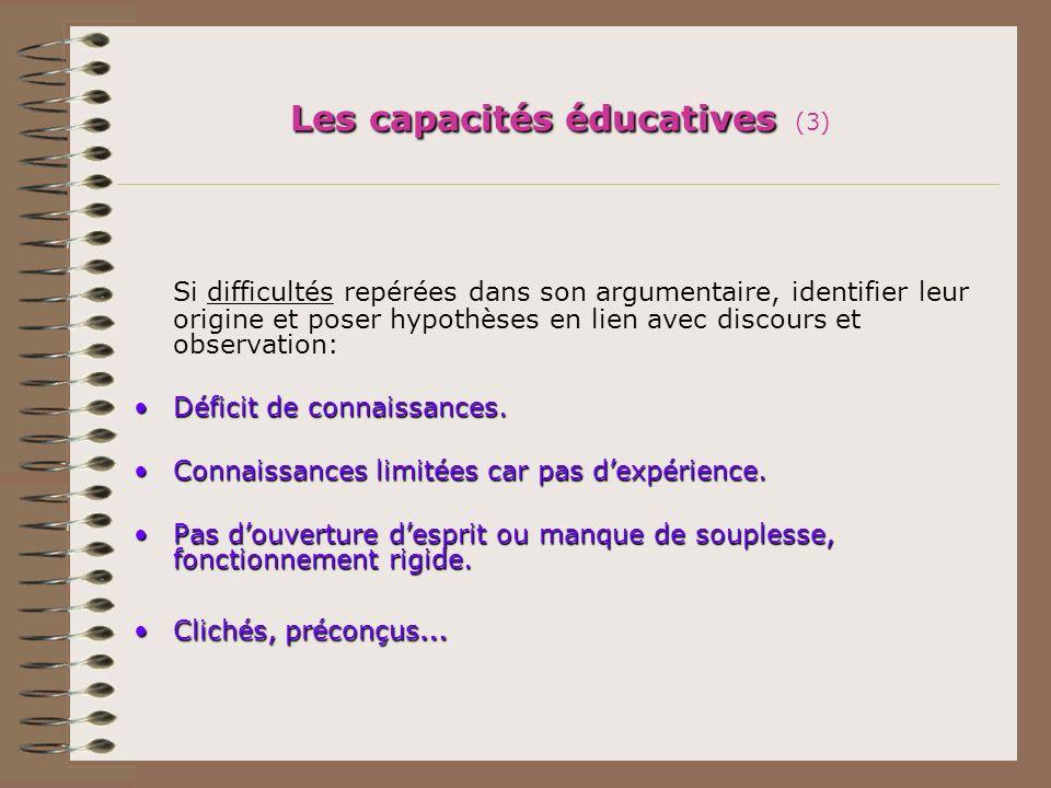 Les capacités éducatives (3)