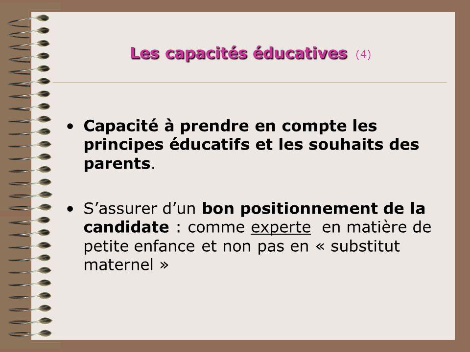 Les capacités éducatives (4)