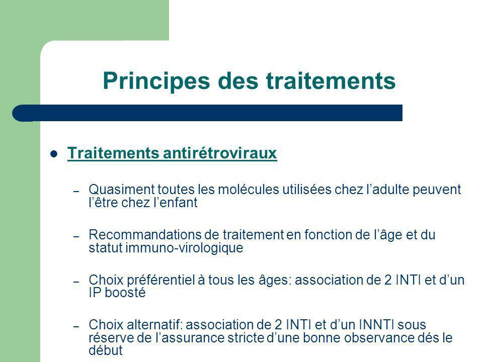 Principes des traitements