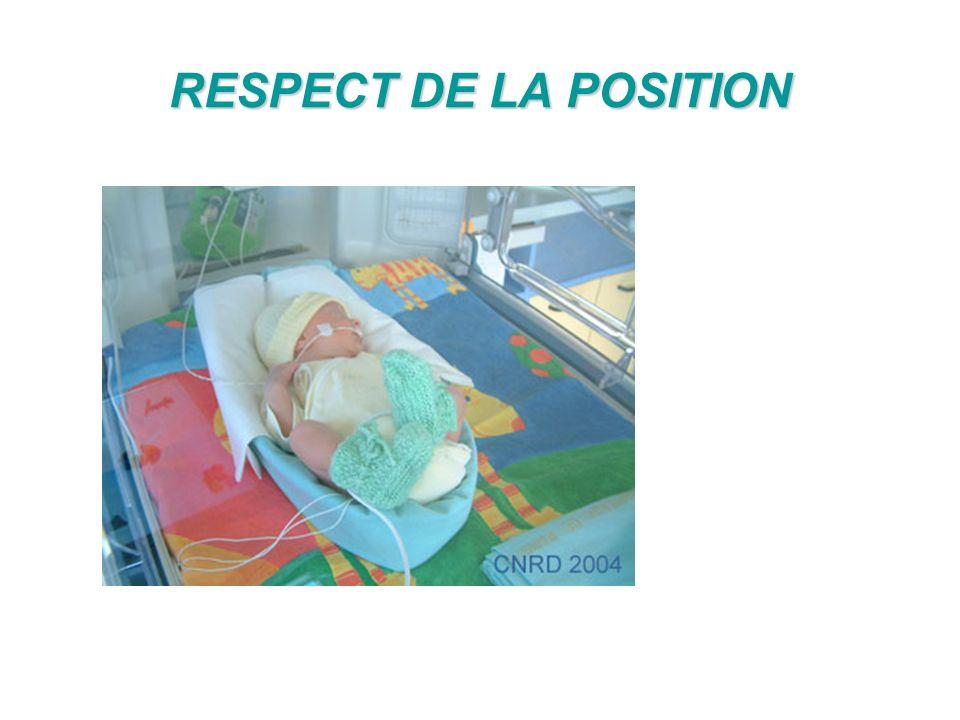 RESPECT DE LA POSITION