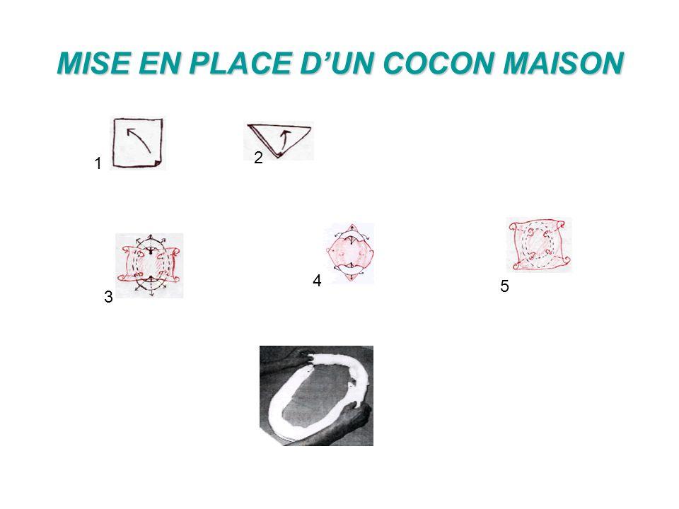 MISE EN PLACE D'UN COCON MAISON