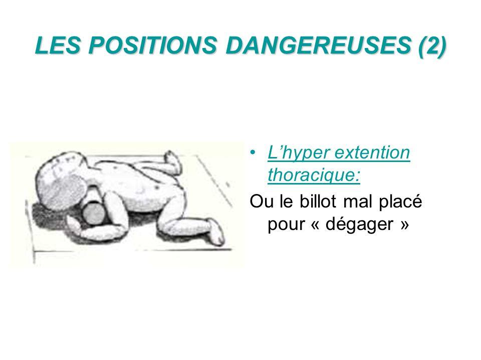 LES POSITIONS DANGEREUSES (2)