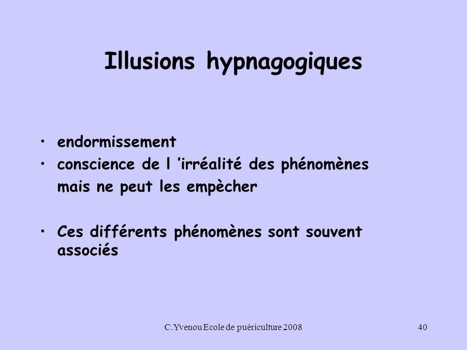 Illusions hypnagogiques
