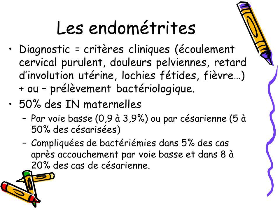 Les endométrites