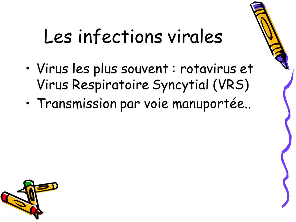 Les infections virales