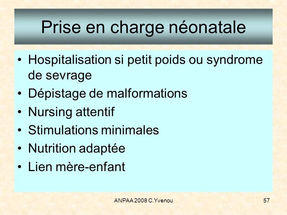 Prise en charge néonatale