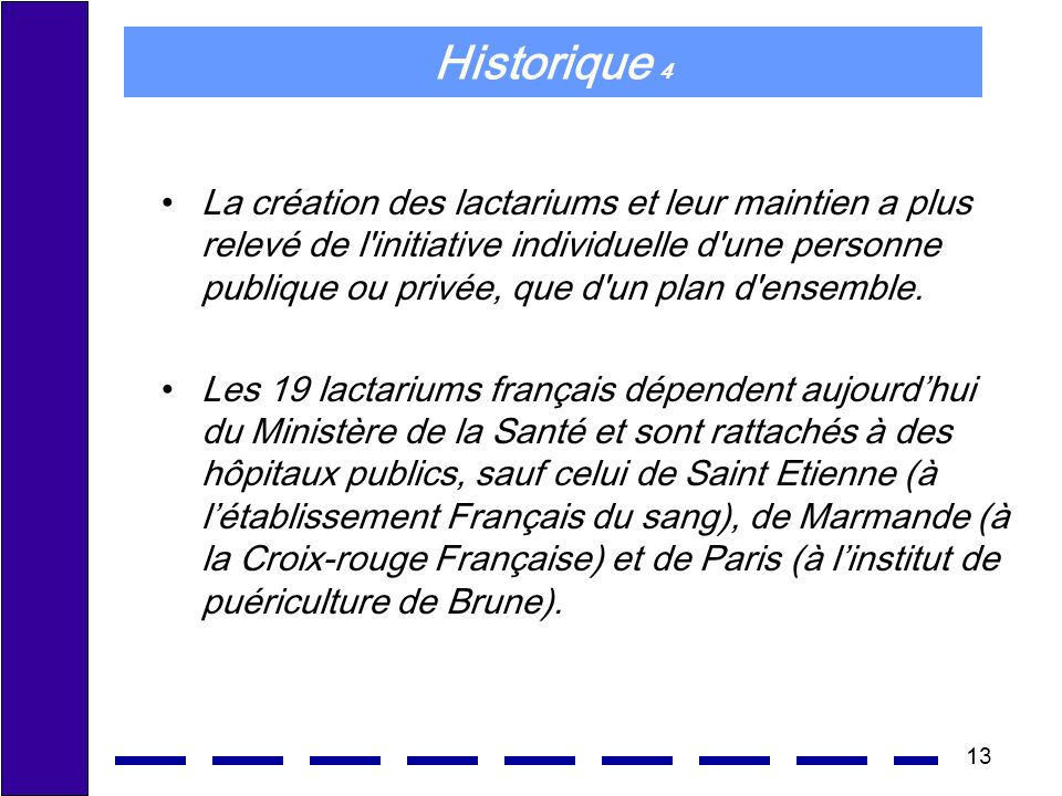 Historique 4