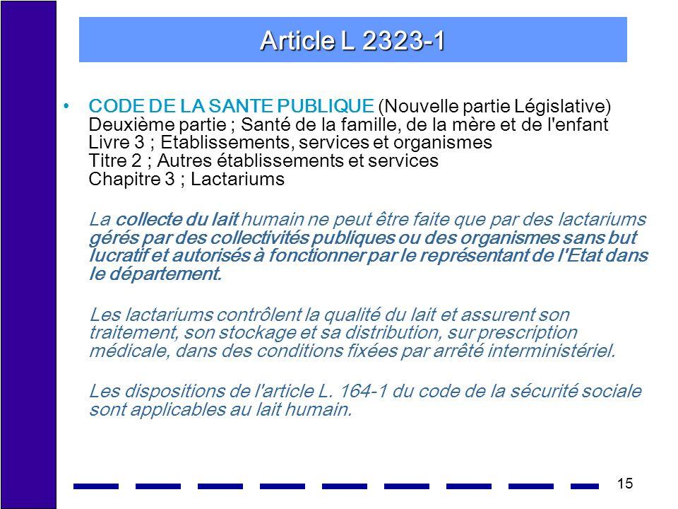 Article L 2323-1