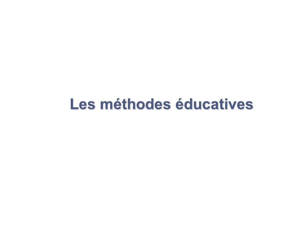 Les méthodes éducatives