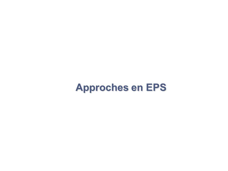 Approches en EPS