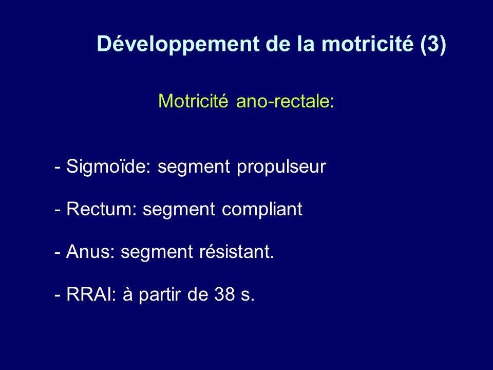 Développement de la motricité (3)