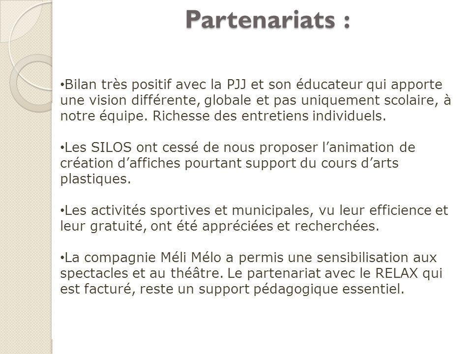 Partenariats :