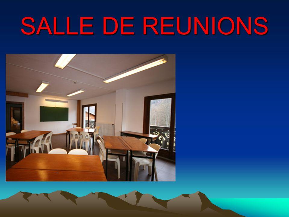 SALLE DE REUNIONS