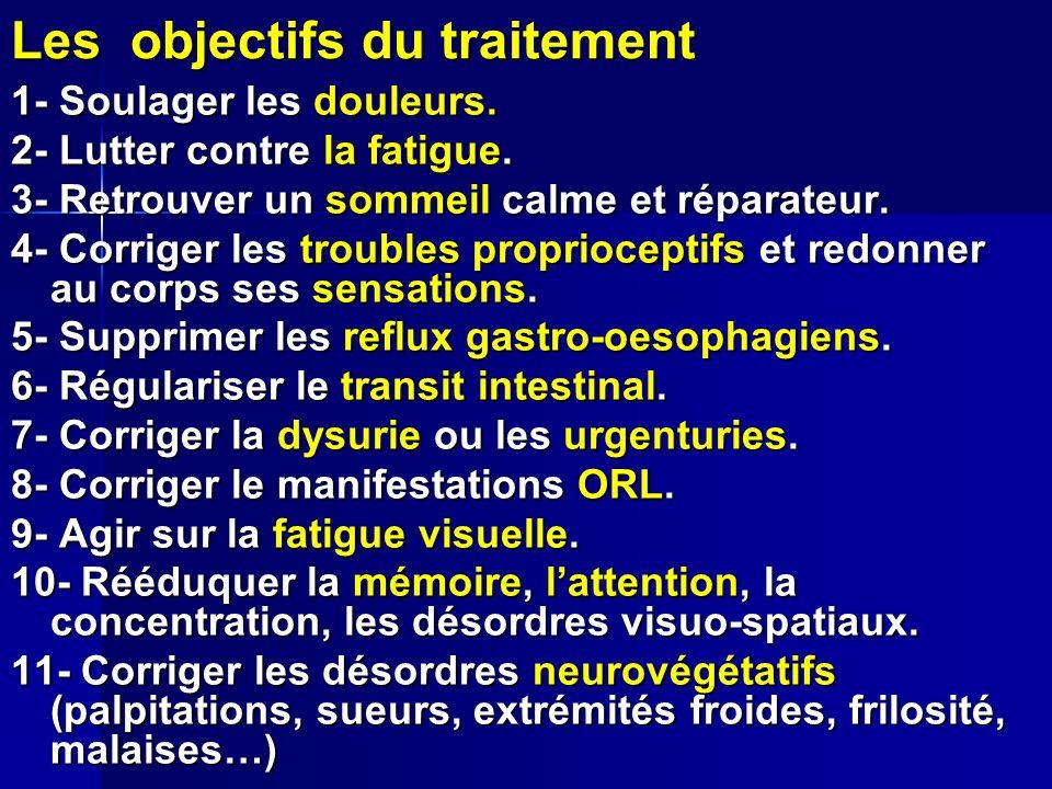 Les objectifs du traitement