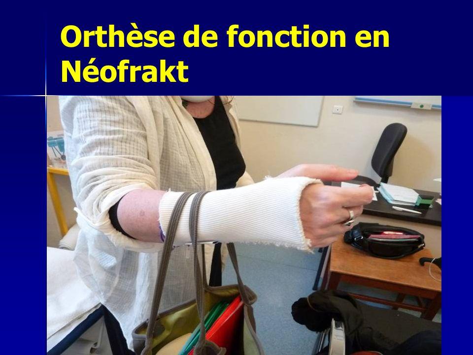 Orthèse de fonction en Néofrakt