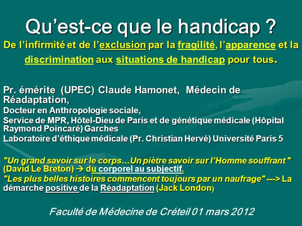 Faculté de Médecine de Créteil 01 mars 2012