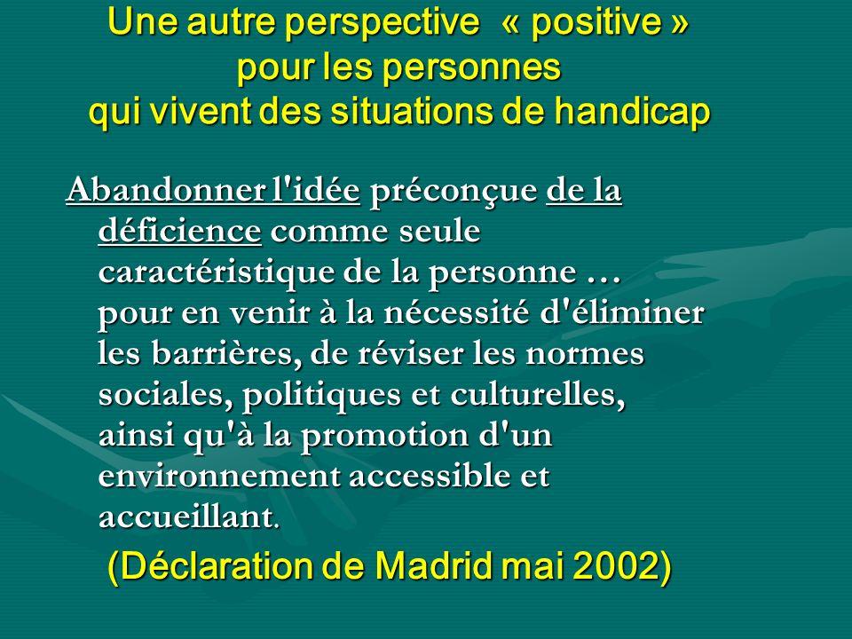 (Déclaration de Madrid mai 2002)
