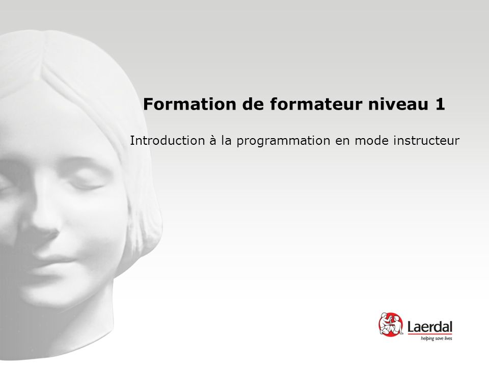 Formation de formateur niveau 1 Introduction à la programmation en mode instructeur