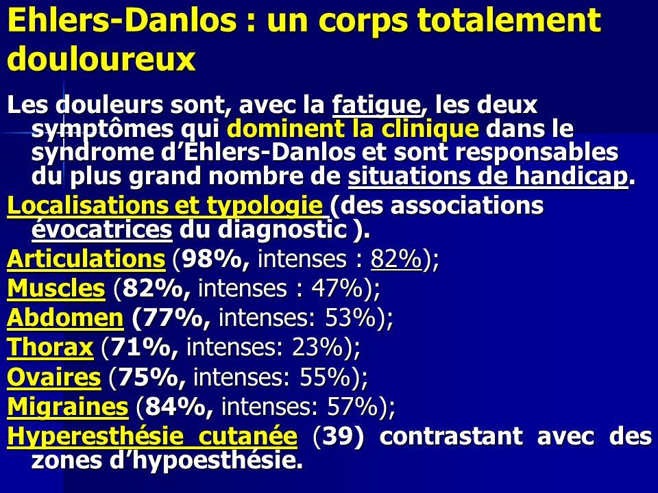 Ehlers-Danlos : un corps totalement douloureux