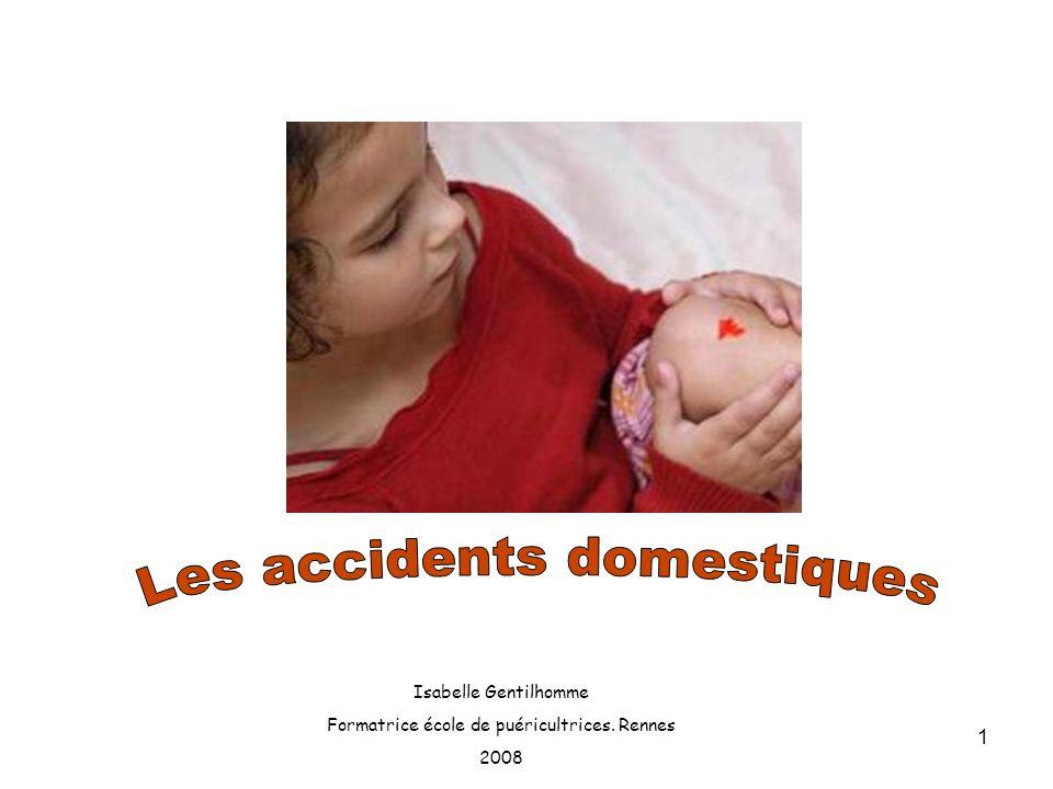 Les accidents domestiques