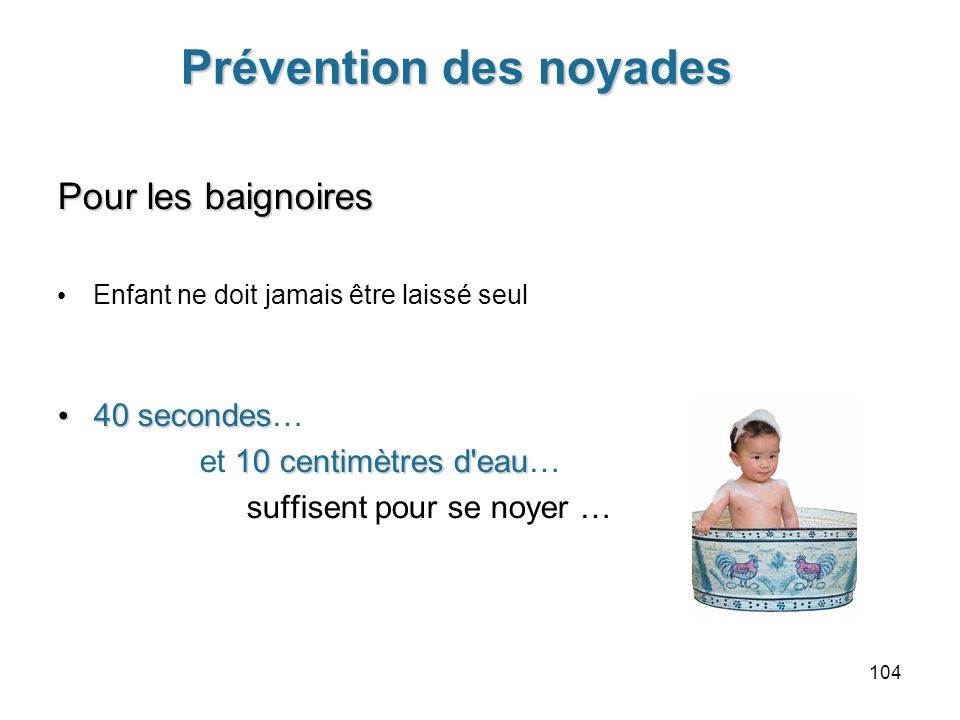 Prévention des noyades