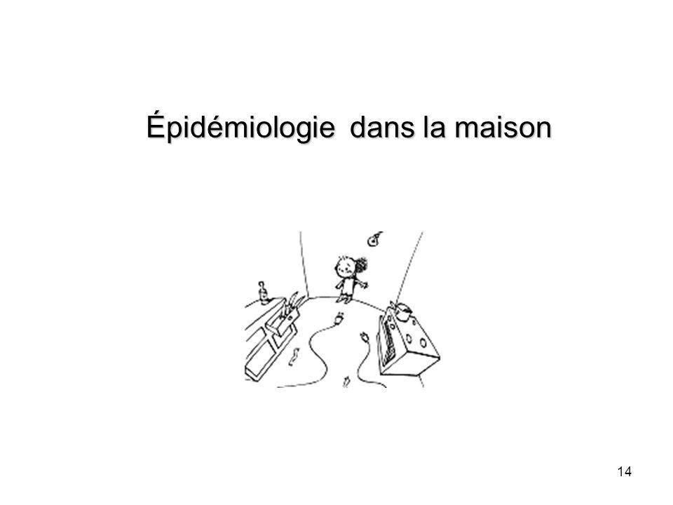 Épidémiologie dans la maison