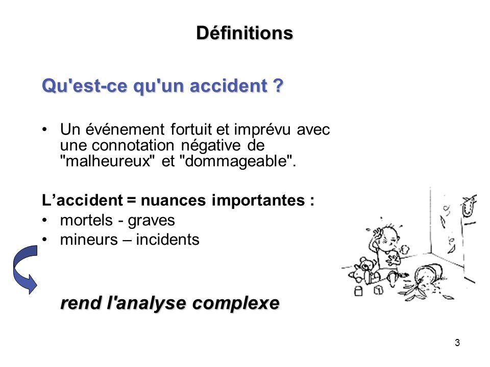 Qu est-ce qu un accident