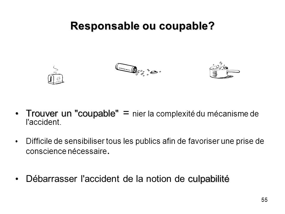 Responsable ou coupable