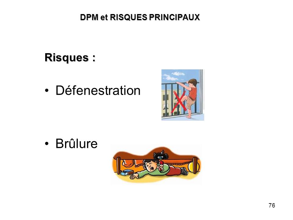DPM et RISQUES PRINCIPAUX