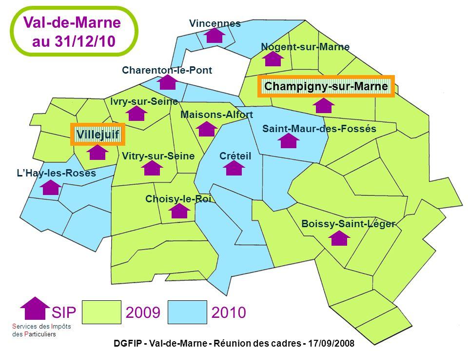 DGFIP - Val-de-Marne - Réunion des cadres - 17/09/2008