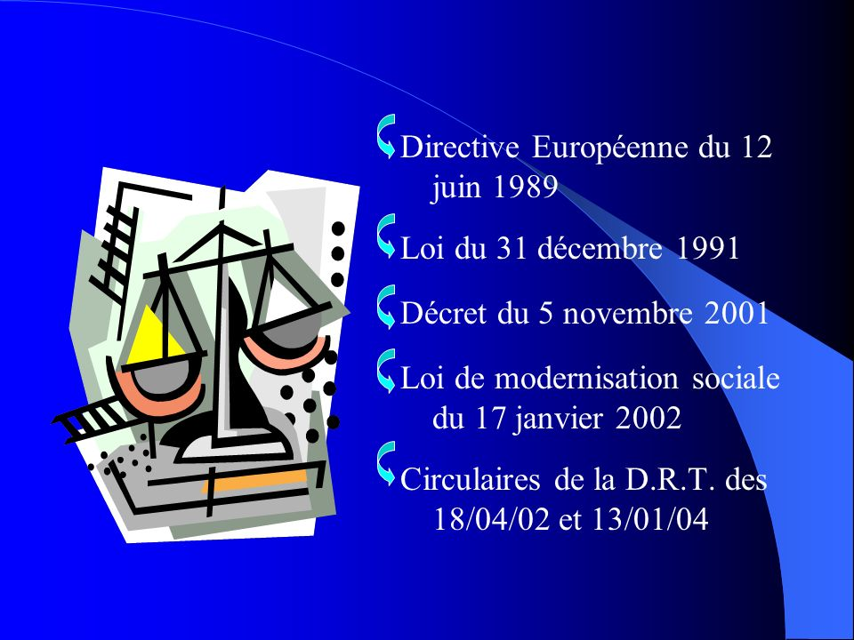 Directive Européenne du 12 juin 1989