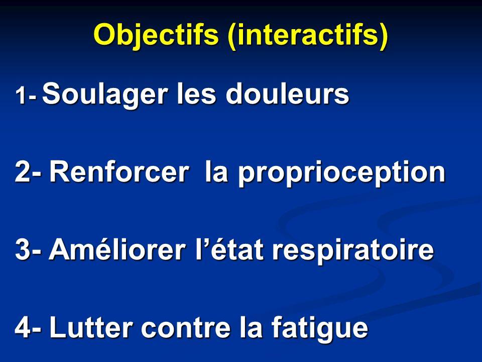 Objectifs (interactifs)